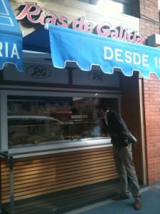 Entrada a Rías de Galícia