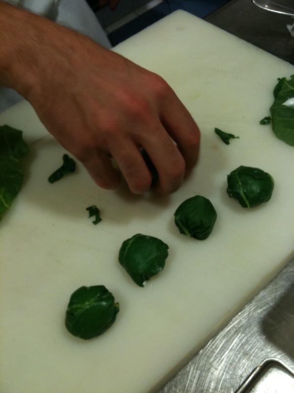 Preparando los ravioli