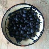 Las olivas de mis 3 mini olivos