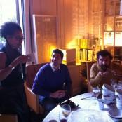 Mialma, Alberto y Alex
