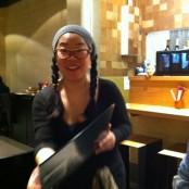 Nuestra simpática camarera