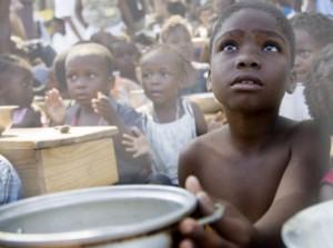 El hambre en Haití