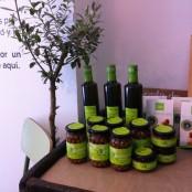 Algunos productos ecológicos en venta