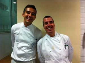 Tiago y el gran chef Lluís Rovira