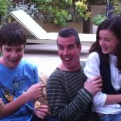 Alex, Lluís e Irene