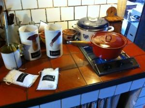 En la cocina de La Pegatera