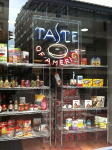 Fachada de Taste of America