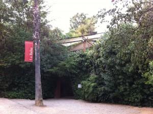 La entrada a La Balsa
