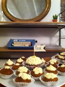 Carrot cupcakes de Cori en ::frescota::