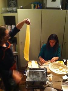 Haciendo la pasta