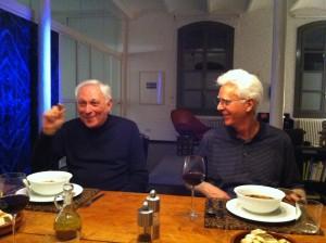 Rick & Wayne en su loft