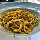 Spaguetti aglio, oglio e pepperoncino