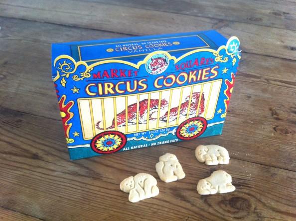 Vanila Circus Cookies