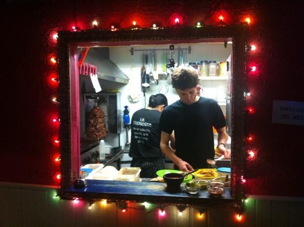 La cocina de La Taquería