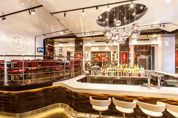 Nuevo rediseño del interior del Hard Rock Café