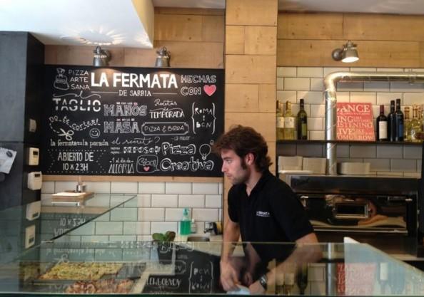 Rafa en interior de La Fermata