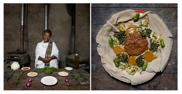 Etiopía, Injera
