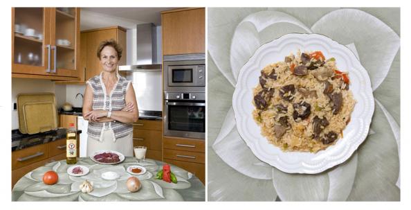 España, Asadura de cordero lechal con arroz