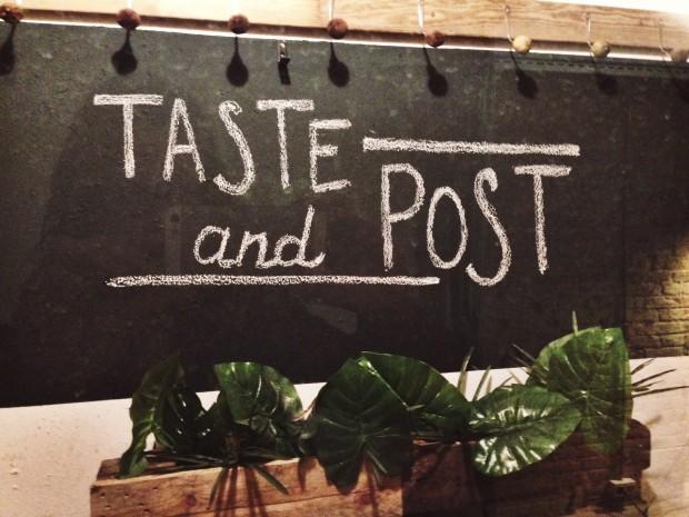 El primer encuentro del Taste and Post