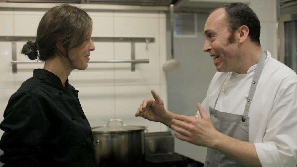 Con el gran chef Víctor Ferrer
