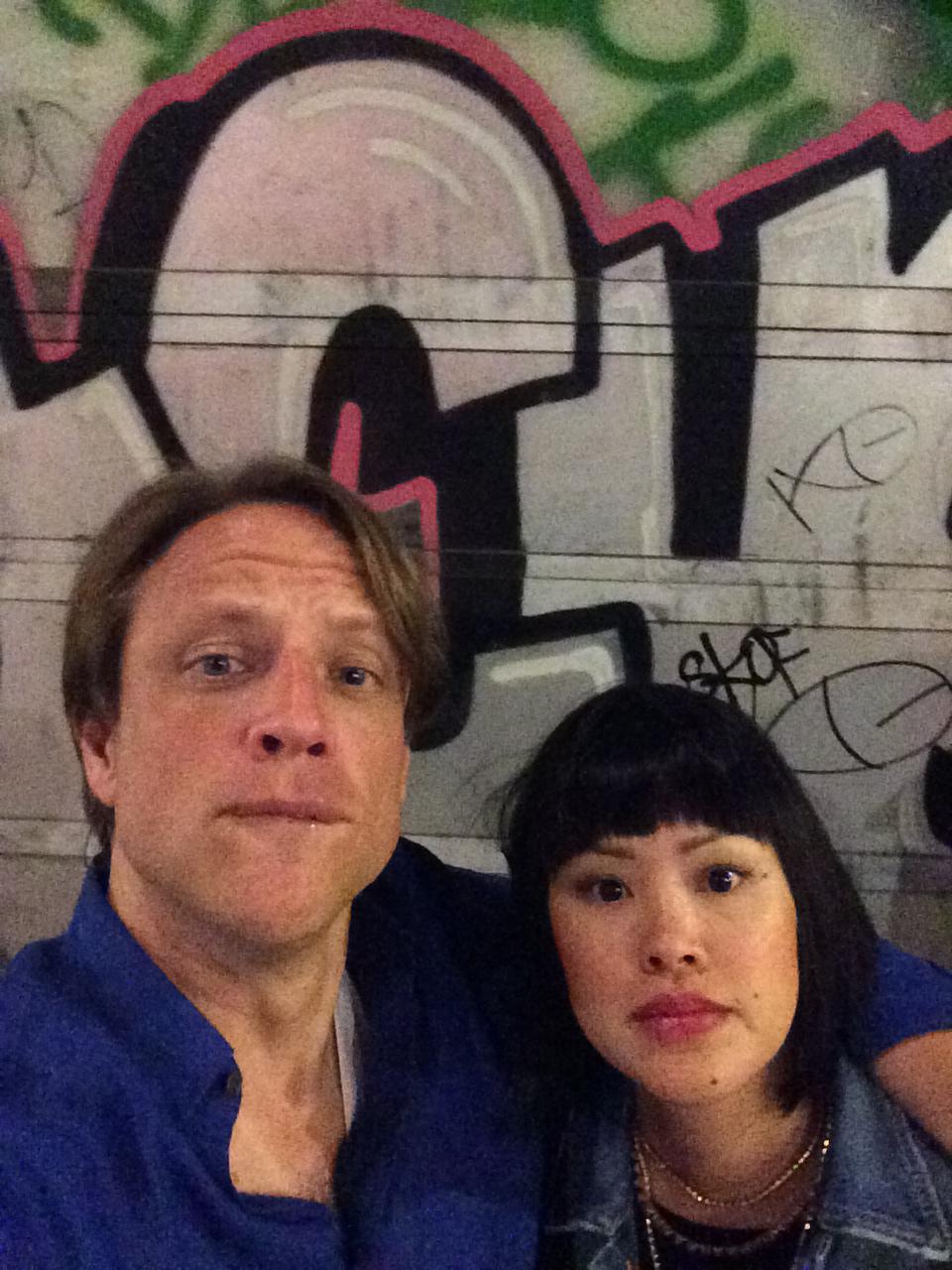 Eric y Marlene en Barcelona