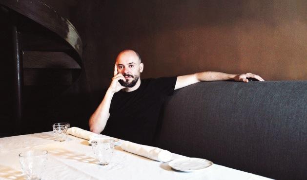Albert Ventura en el interior de El Cercle