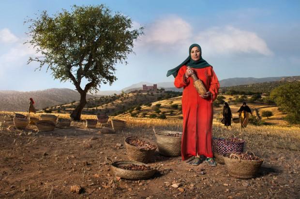 Nadia Fatmi. Marruecos