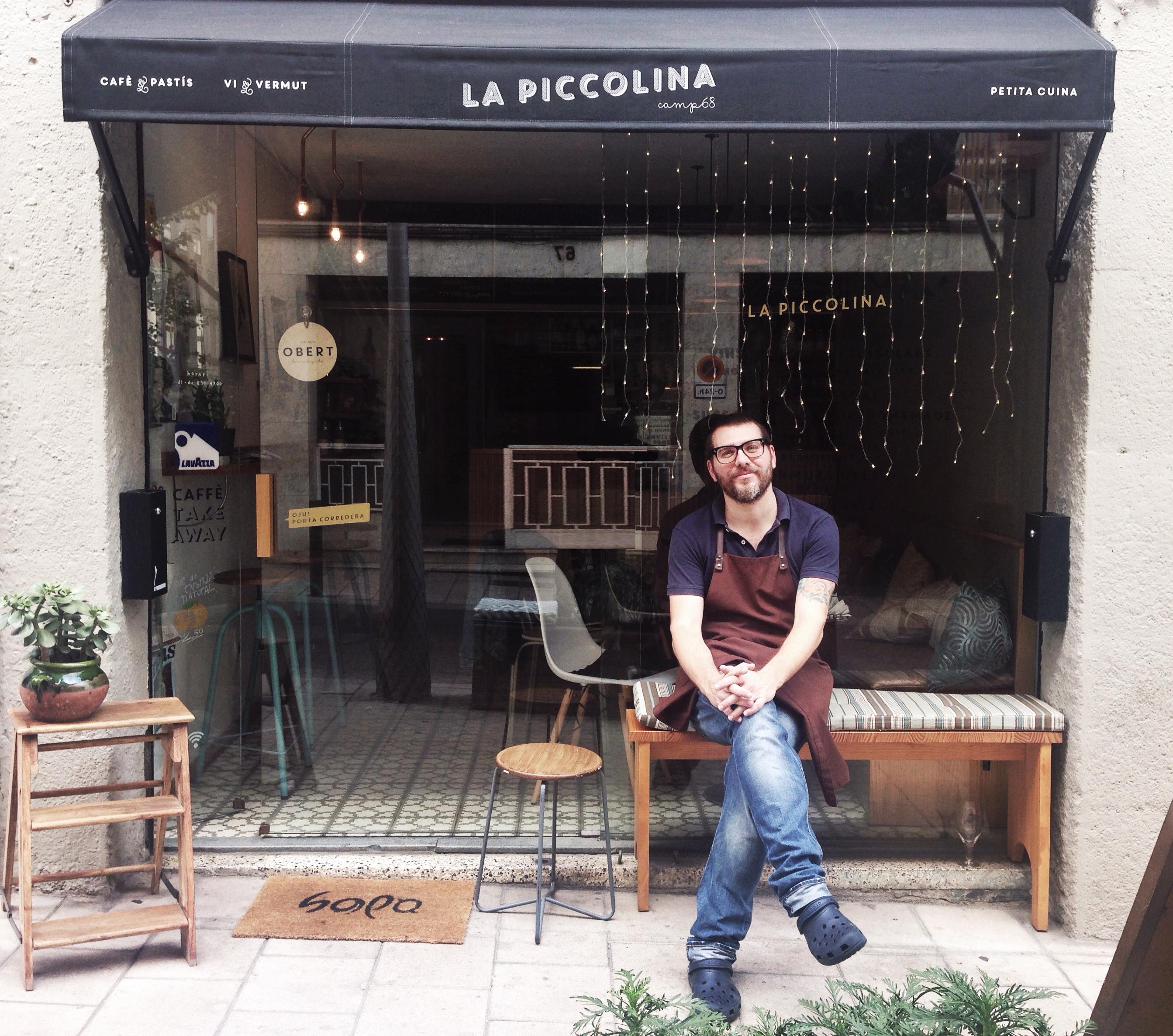 Stephano en La Piccolina