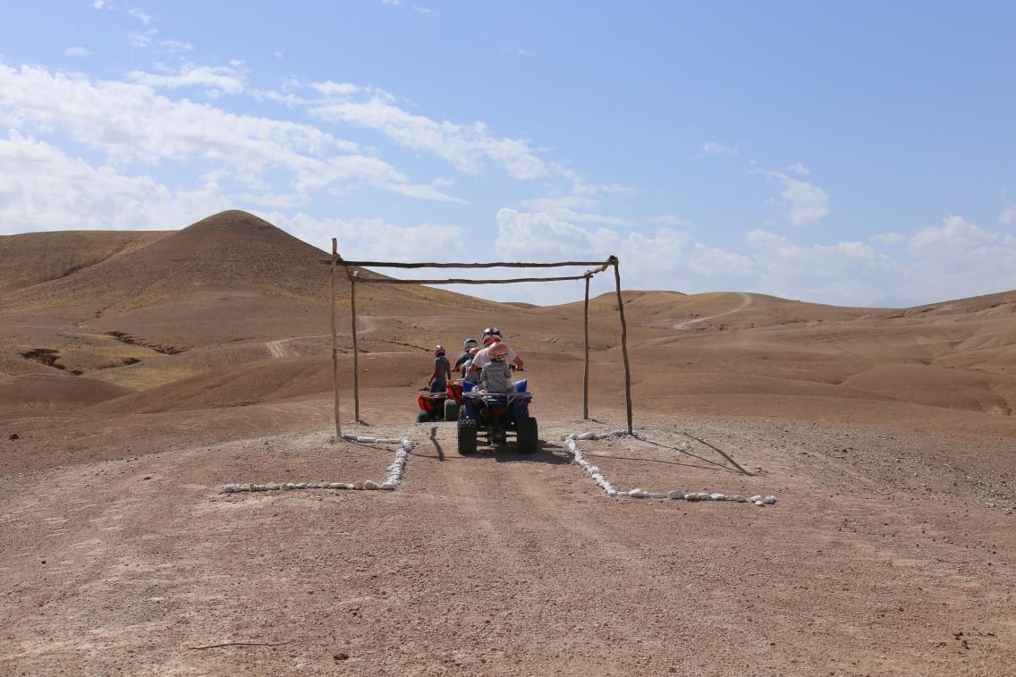Una salida en quad por el desierto