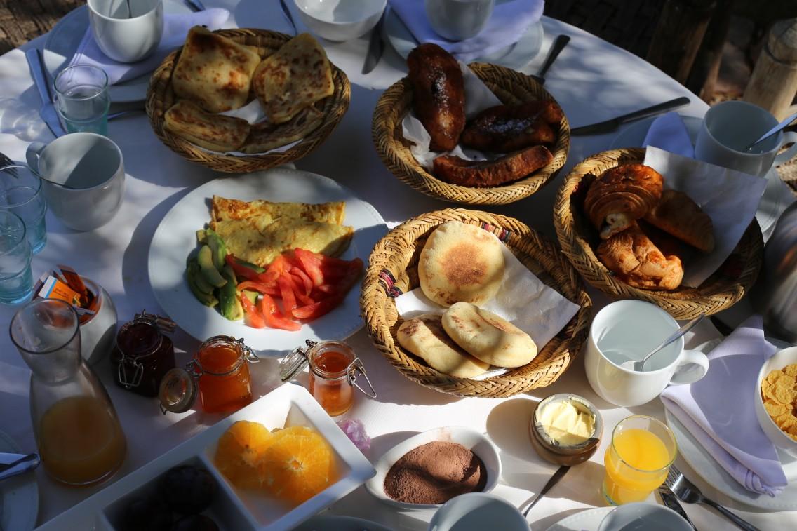Los abundantes, exquisitos y dilatados desayunos de La Pause