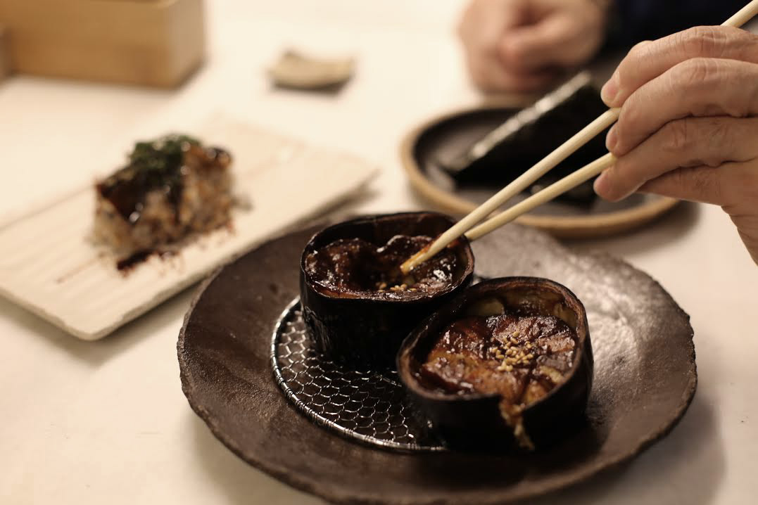 La berejena con miso del Shunka