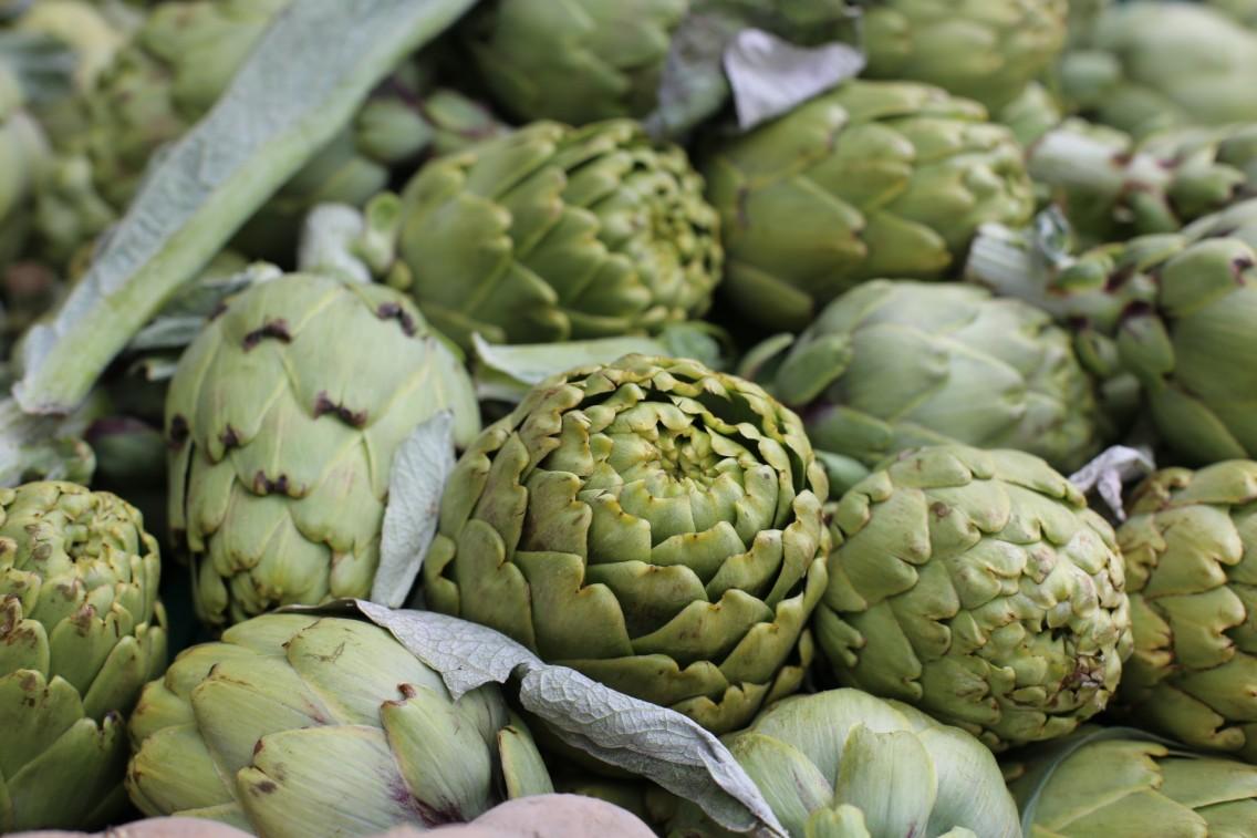 Las preciosas alcachofas de El Prat