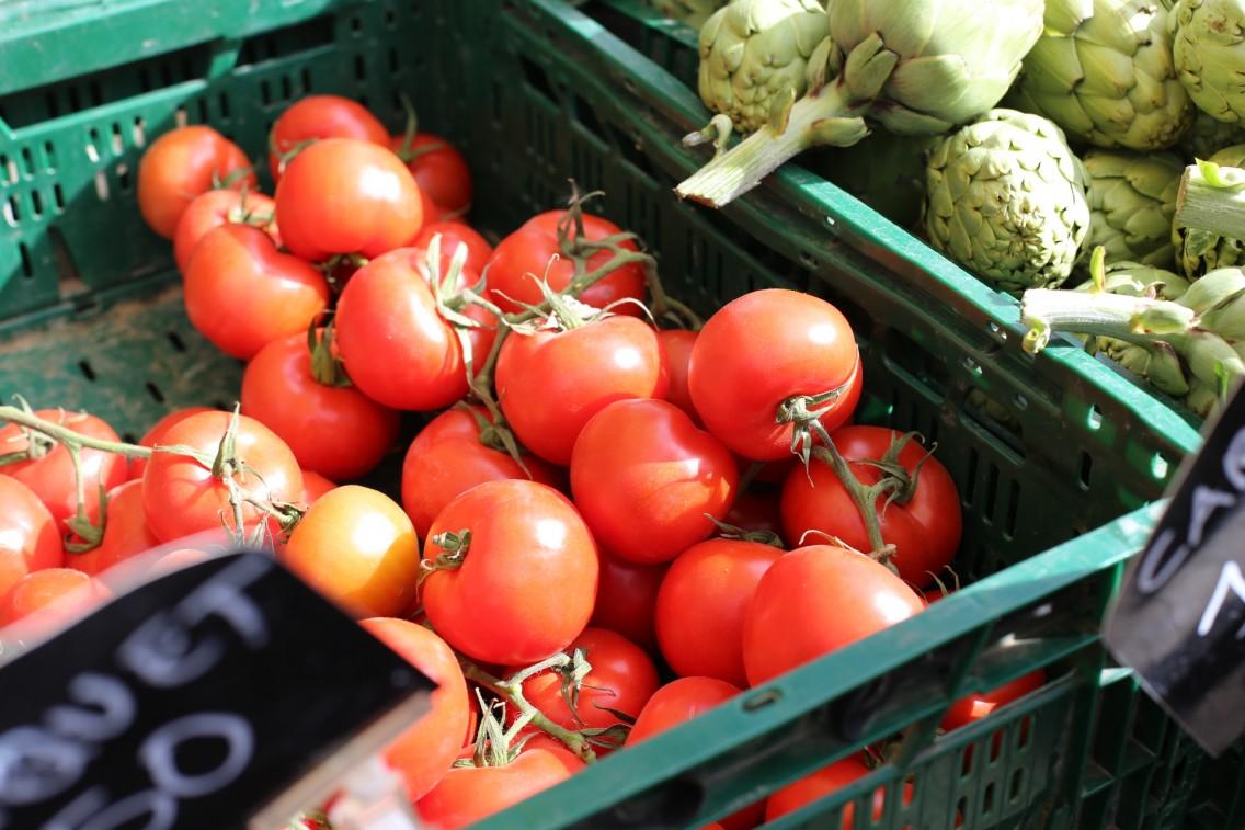Los tomates de Xavi Oliva de El Prat