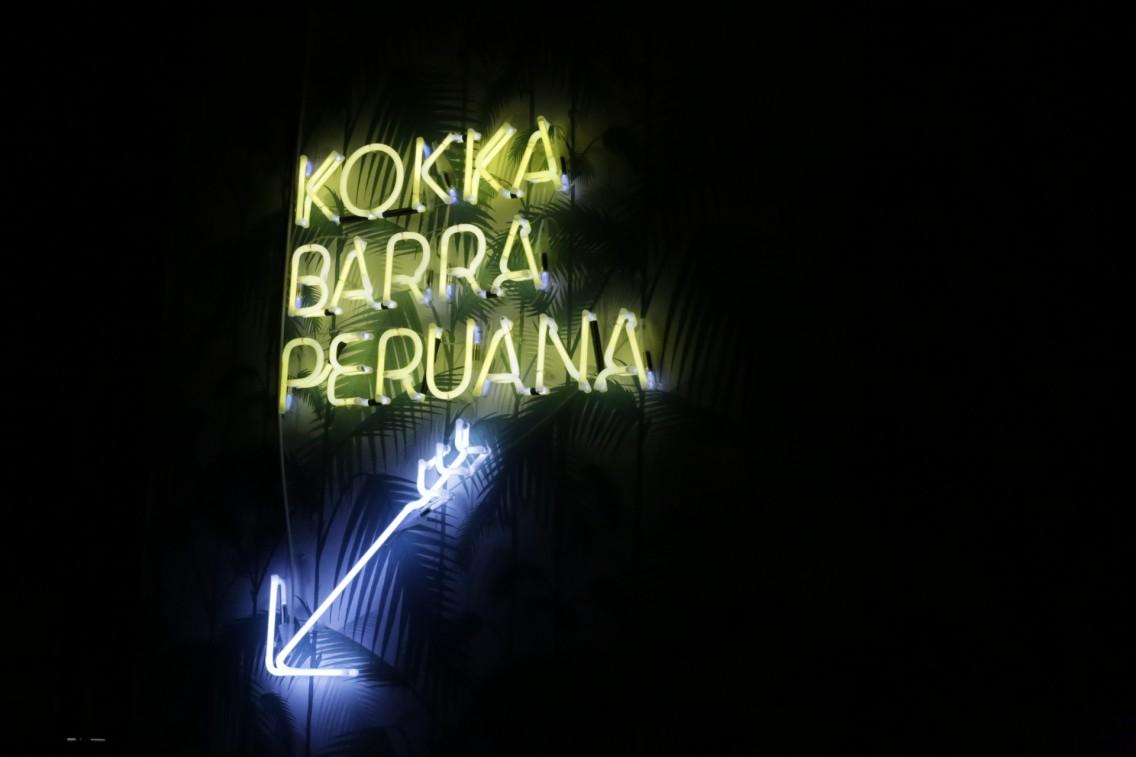En los bajos del Palosanto encontramos el Kokka
