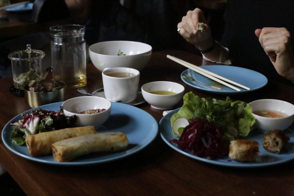 Los platos vietnamitas del Têt