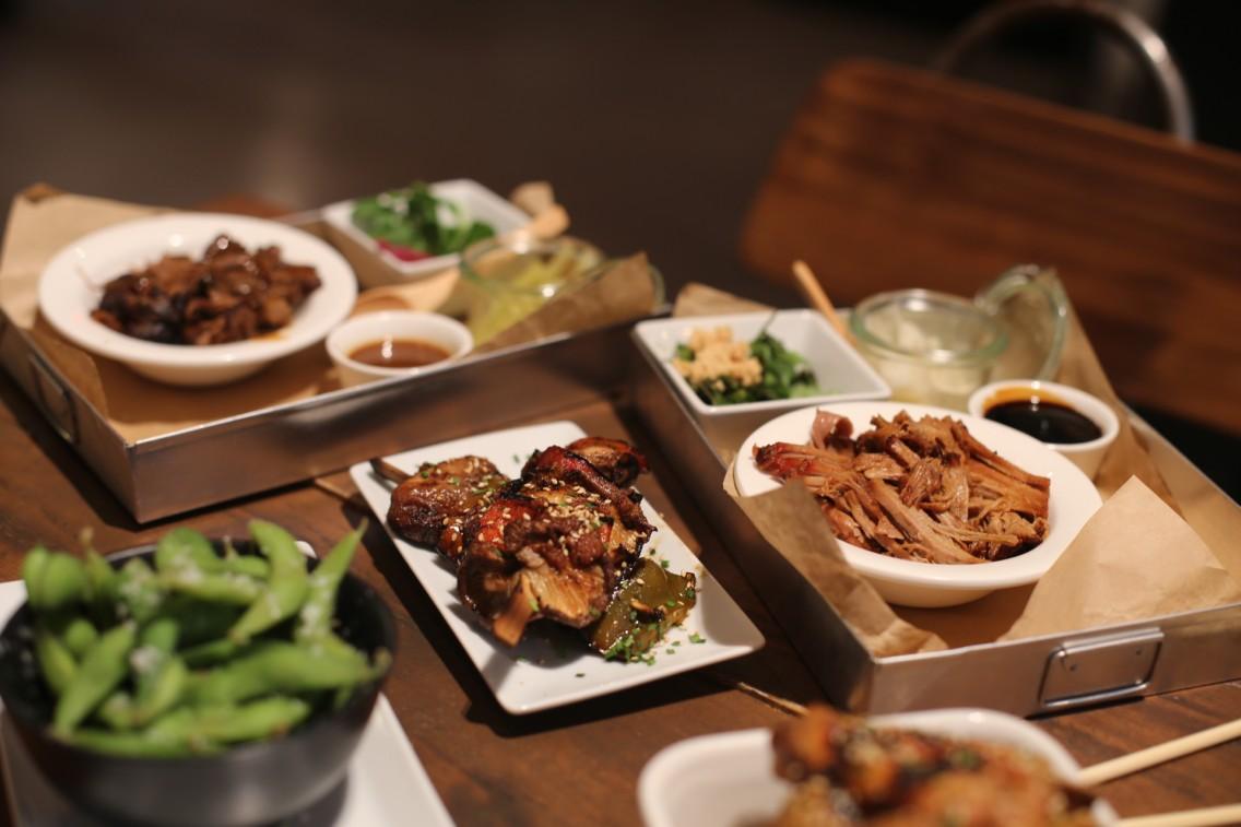 Ladeliciosa selección de platos que comimos en el Buns