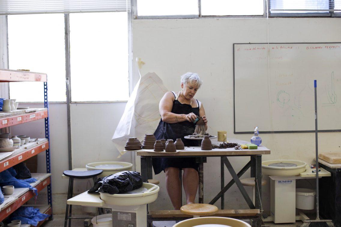 Dori, una de las alumnas del Torn