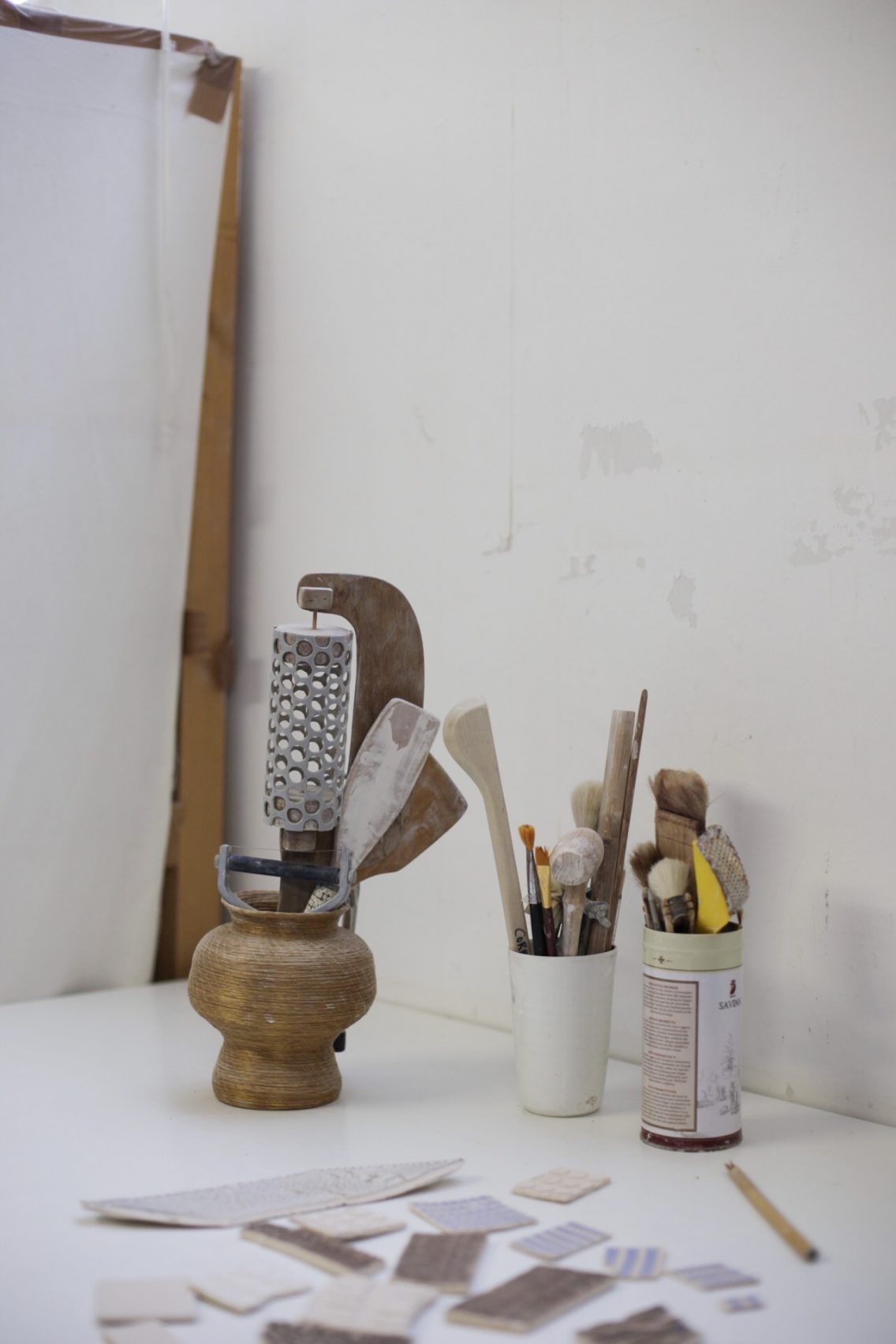 Las herramientas del taller de Corrie