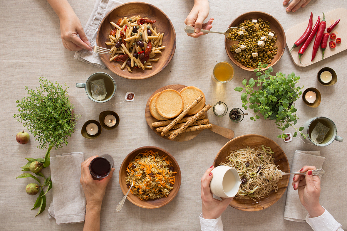 Bodegón para comida bio de Diet Rádisson