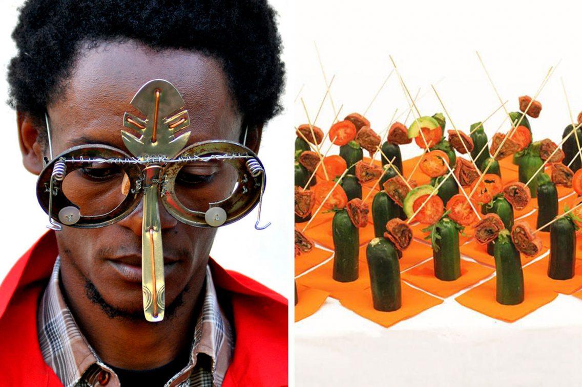 Concepto gastronómico de Cyrus Kabiru en la Fundació Tàpies