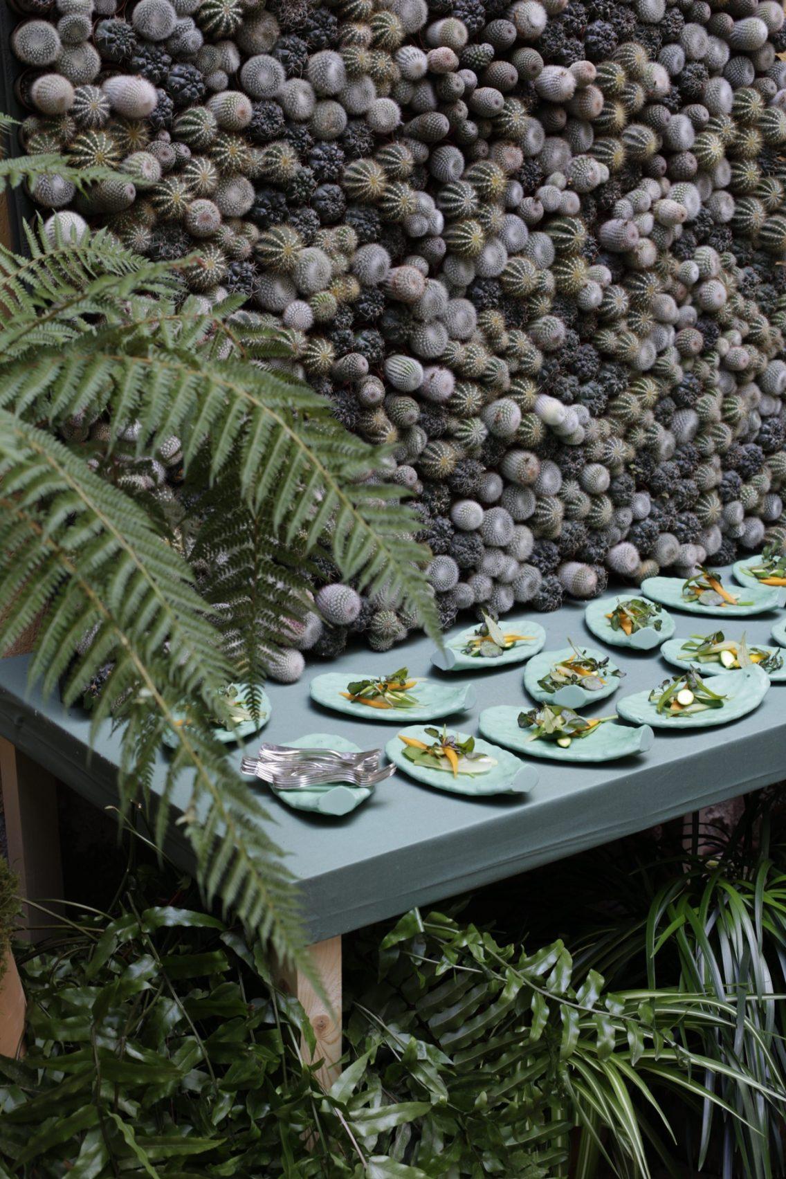 En el evento de Hermès haciendo referencia a su concepto anual Nature au gallop