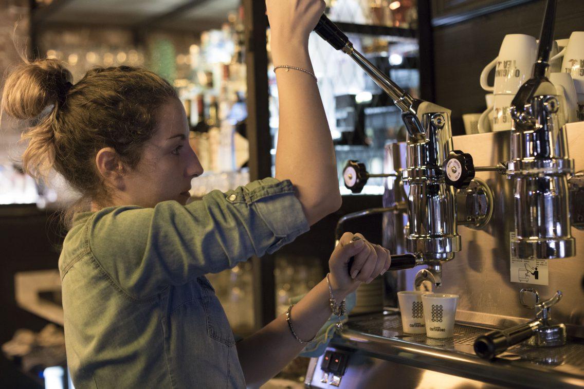 La máquina de café del Iluzione