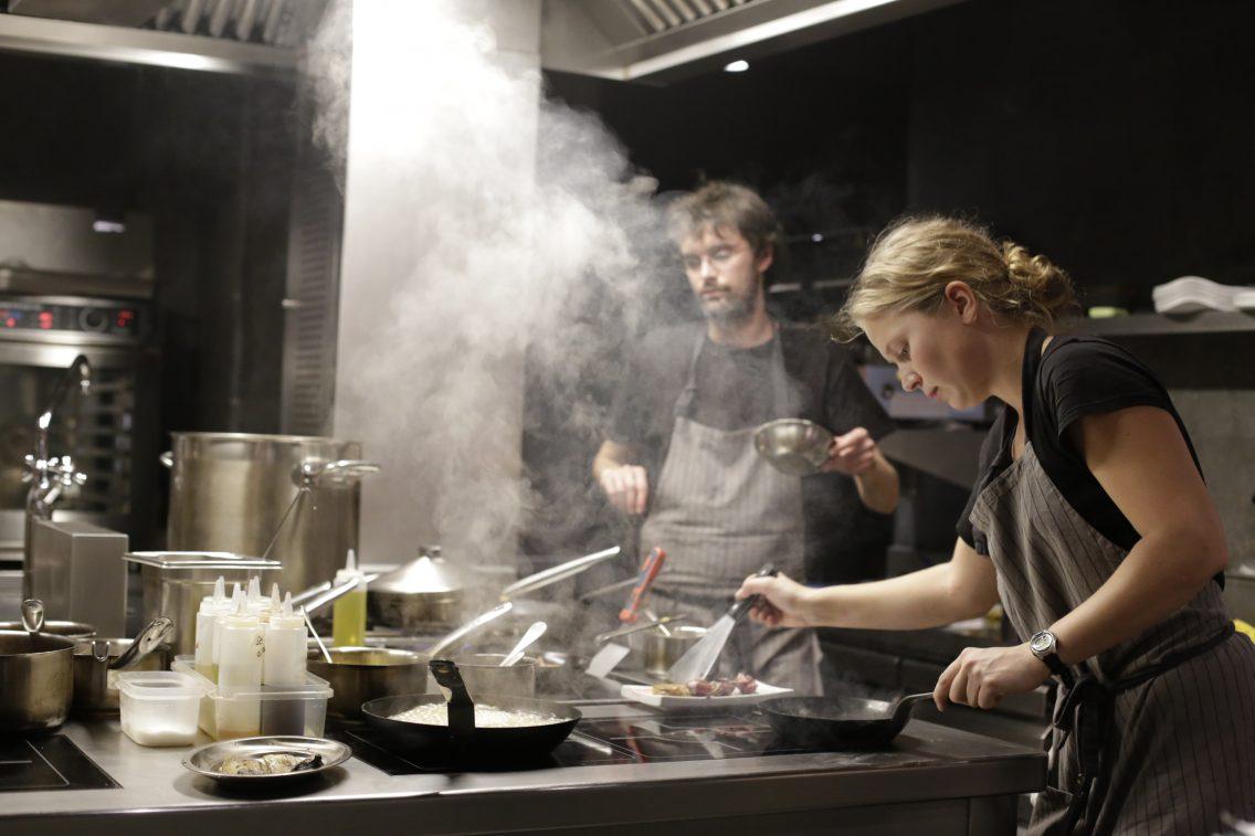 En la cocina abierta de la Gresca