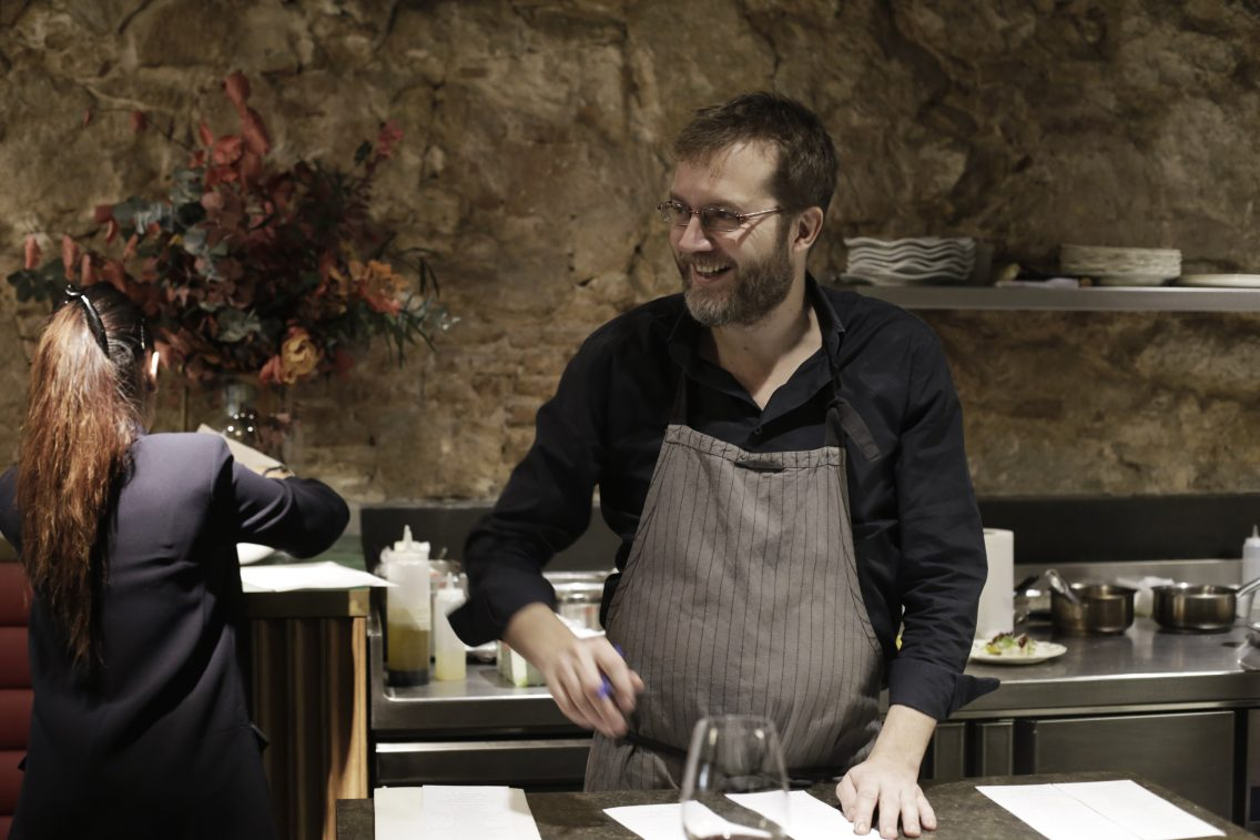 El chef Rafa Peña en la Gresca