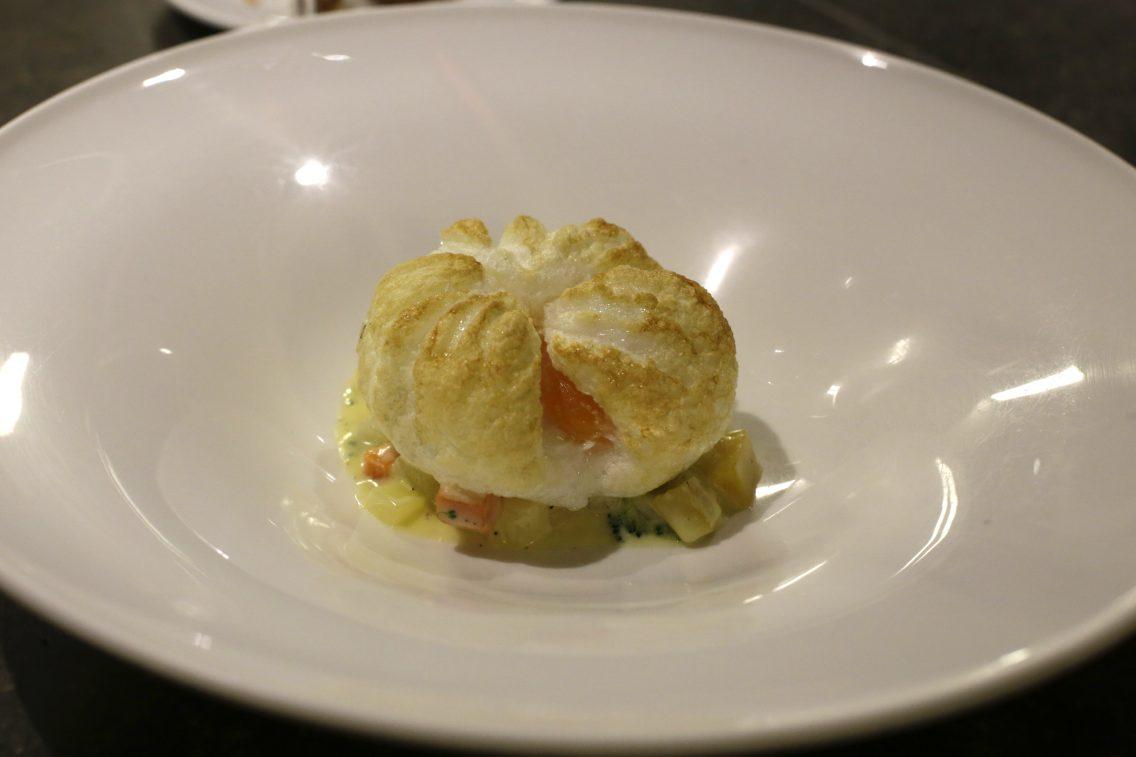 El huevo soufflé