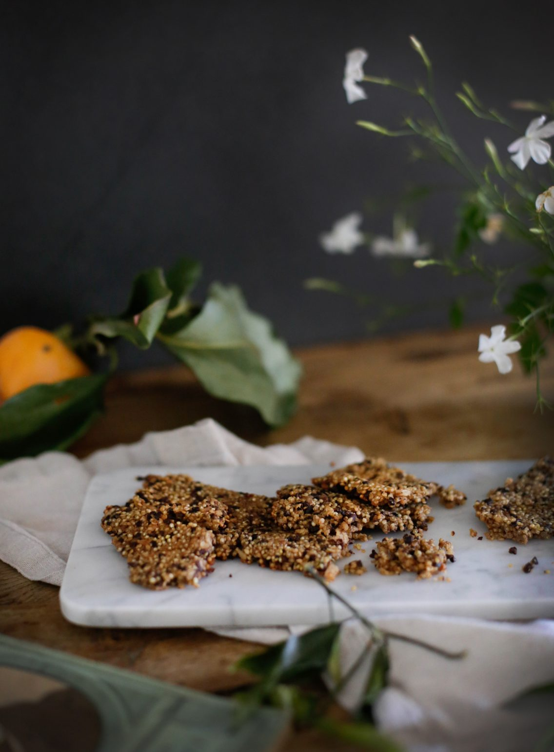 Quinoa health bars