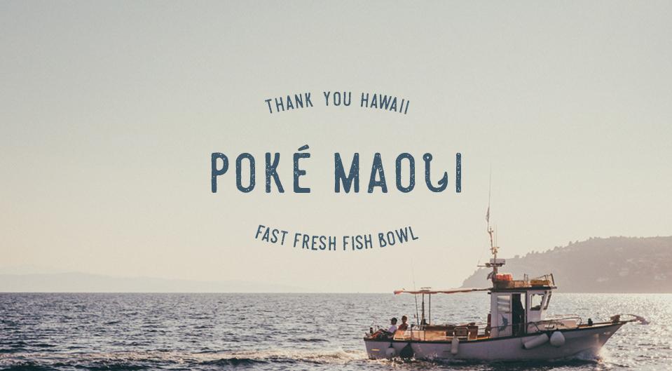 Logotype Poké Maoli
