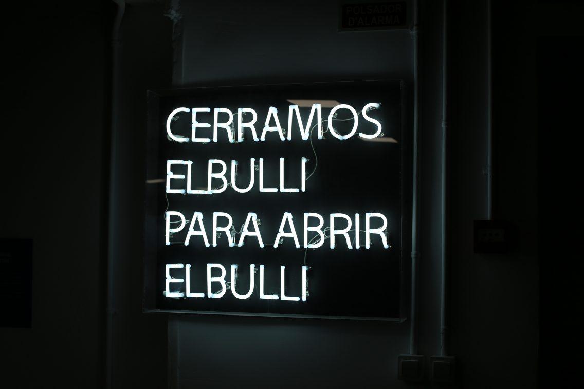 Cerramos el Bulli para abrir el Bulli
