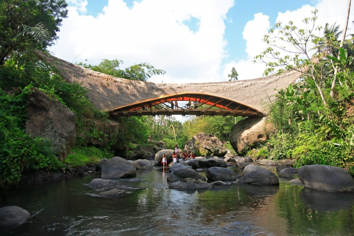 Las clases en el río Ayung