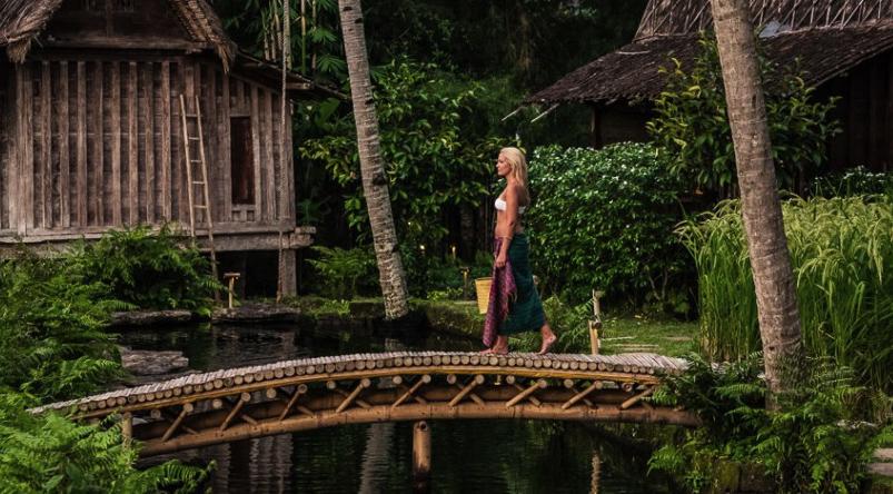 Un paseo por el Bambu Indah